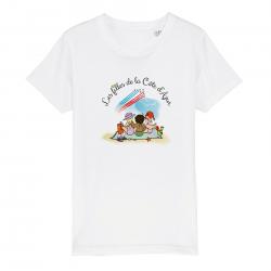 T-shirt Enfant - Les filles...